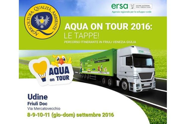 AQUA ON TOUR a Friuli doc