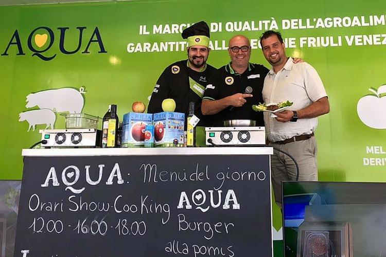 Seconda tappa di Aqua on Tour a Tarvsio con Pomis, Latterie di Visinale e Friultrota