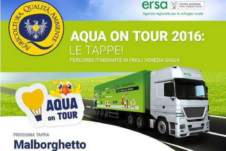 Ultima tappa di Aqua on Tour a Malborghetto - Ein Prosit
