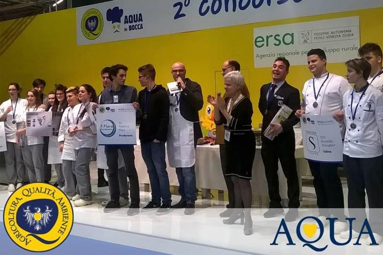 AQUA IN BOCCA: l'Istituto Linussio vincitore del concorso di cucina